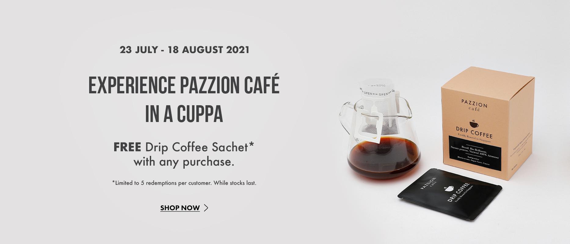 Free Drip Coffee
