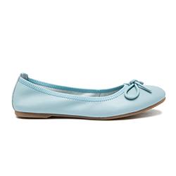 8232-1 Blue Classic Ballerina Flats