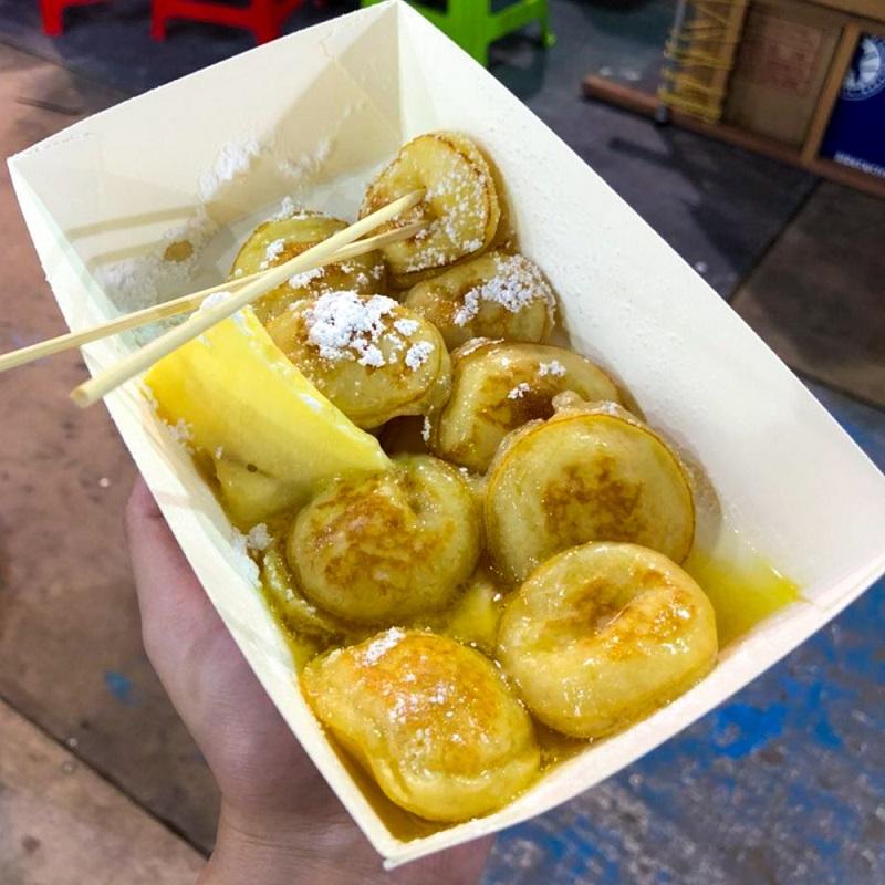 Poffertjes (Dutch Baby Pancakes)