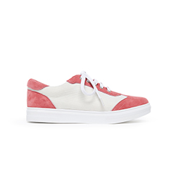 1310-51 Melon Athleisure Laced Sneakers