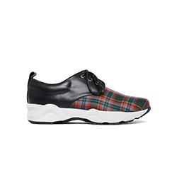 579-2 Tartan Plaid Sneakers
