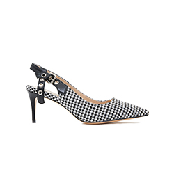 2886A-10 Houndstooth Pumps