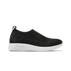 46S345-15XD Crystal Sock Sneakers