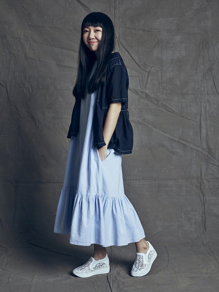 Teresa Lim - 8193-2 White Platform Sneakers