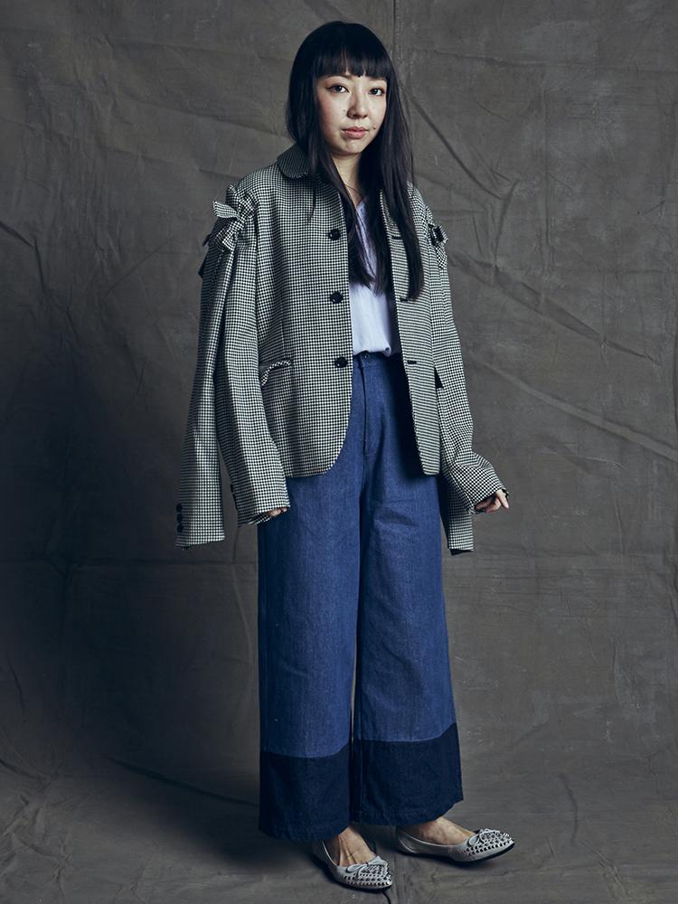 Teresa Lim - 860-210 Grey Studded Foldable Flats