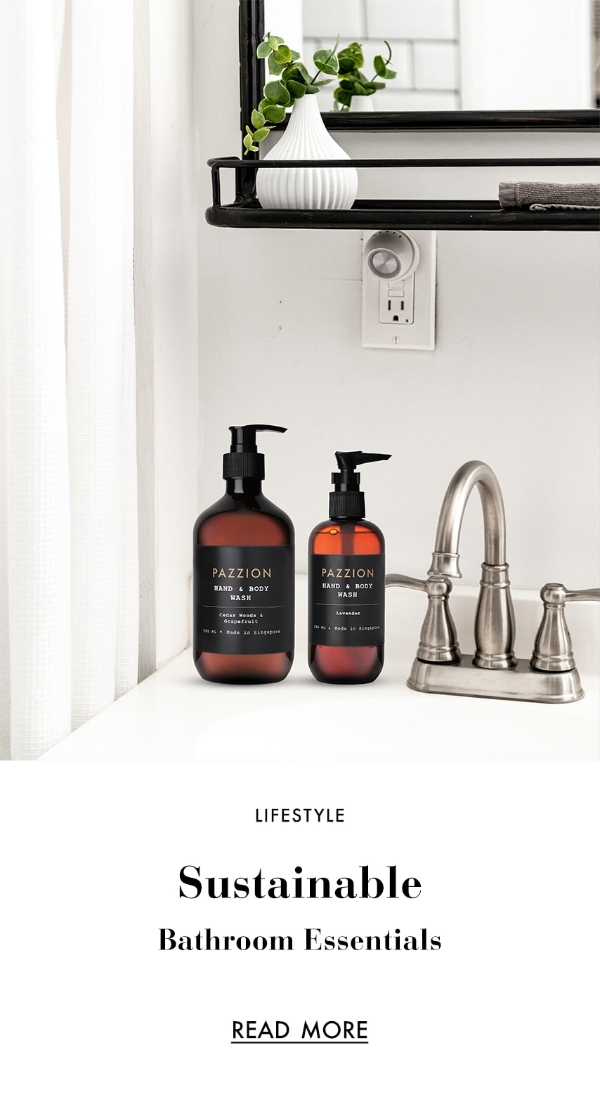 CHANGING UP YOUR LIFESTYLE WITH SUSTAINABLE BATHROOM ESSENTIALS