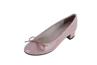520-1 Brown Chunky Heel