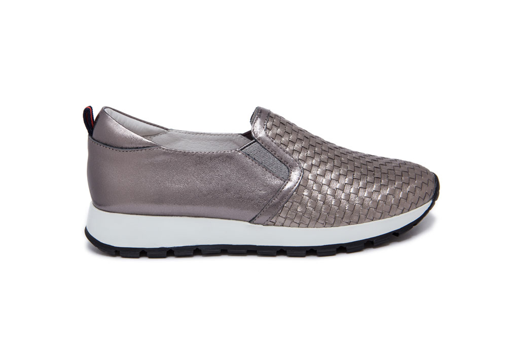 59874000373f6a A63-7 Pewter Sport Lux Sneakers
