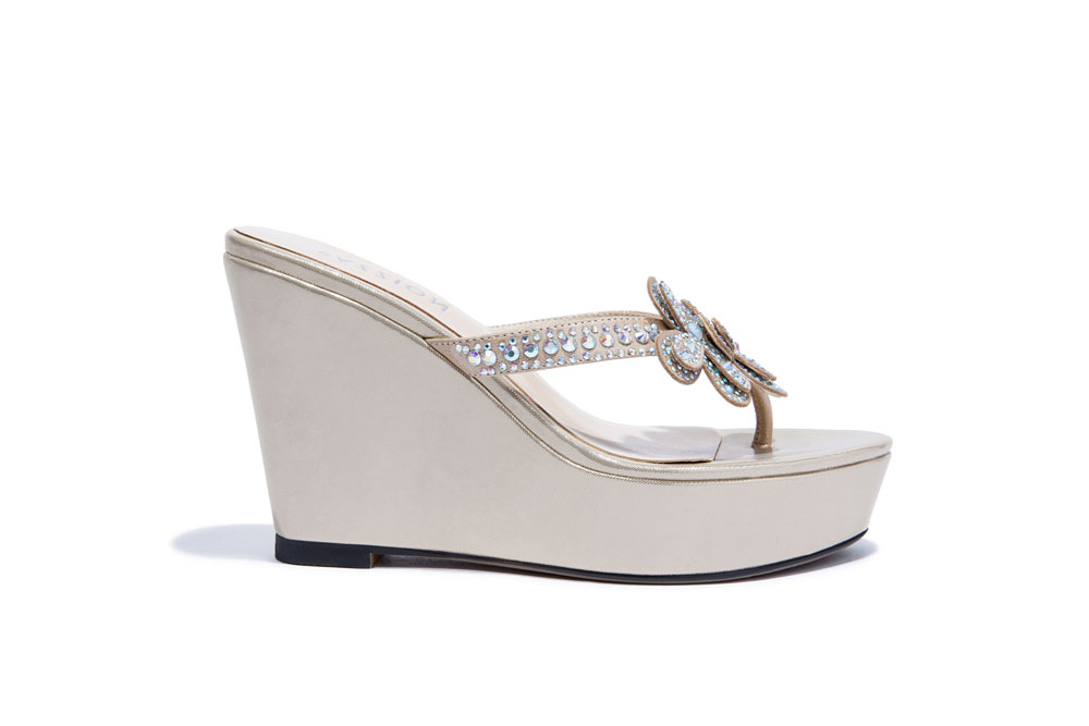 126bdc5b83f8 668-B10 Almond Fancy Wedge Sandal
