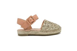 BB1582-7 Kids Gold Sandal