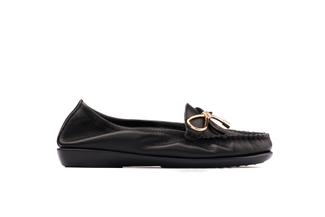 332-23 Black Comfy Flats
