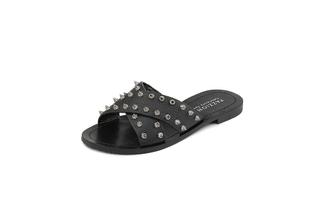 444-14 Black Casual Sandals