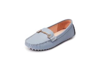 A8-2A Light Blue Loafers
