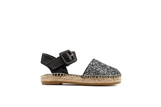 BB1582-7 Kids Black Sandal