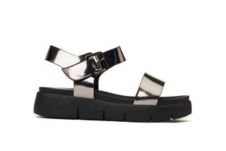 670-1 Pewter Comfy Sandals