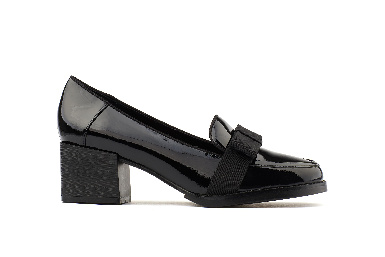 9da89cc45c 7501-2 Black Block Heels   PAZZION