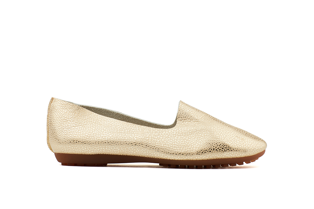 ed79e97c7e7 801-1B Gold Metallic Loafers