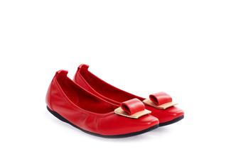 1318-212 Red Ornament Flats