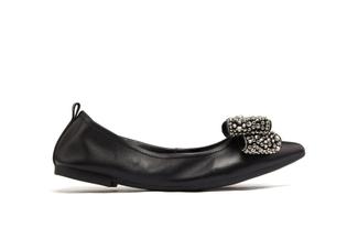 5250-30 Black Dazzling Foldable Flats
