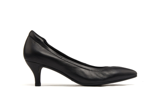 9878-10 Black Classic Low Heels