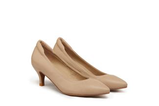 9878-10 Khaki Classic Low Heels