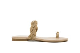 1081-2 Almond Diamante Sandal