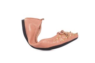 860-12 Pink Foldable Ballerina