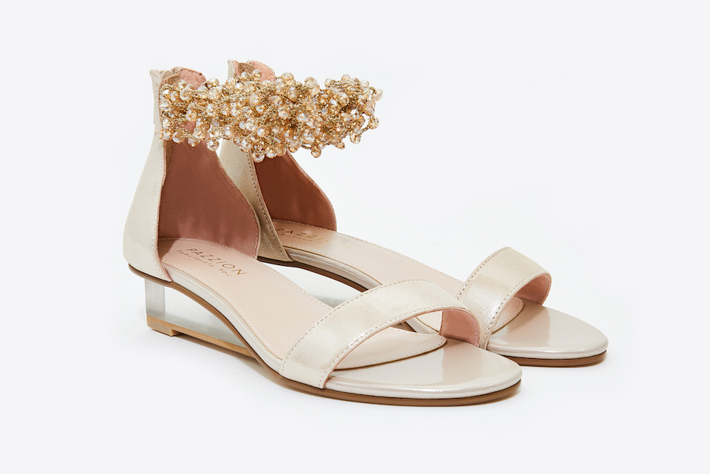 2fd2d7af453 ... 888-1A Almond Embellished Ankle Strap Sandals. previous. previous. Share