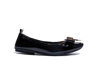 1218-1A Black Elegant Flat