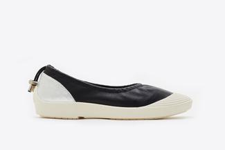 102-5 Black Ballerina-Inspired Sneaker Flats