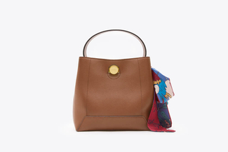 SB-D056 Mud Vintage Scarf Satchel Bag