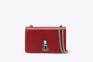 SB-D216 Wine Boxy Keyhole Handbag