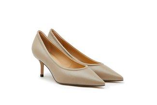 9823-20 Khaki Classy Sleek High Heels