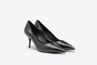 LT183-1 Gradient Patent Stiletto Pointed High Heel