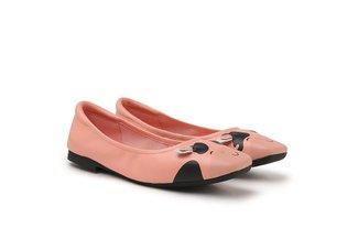 "8889-7 Pink The ""Moo Moo"" Flats"