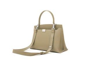 6261 Green Structural Vintage Handbag