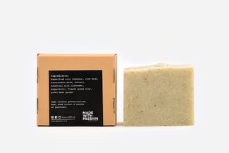 PAZZION Lavender & Peppermint Scented Bar Soap