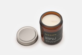 PAZZION Bluebell & White Musk Scented Candle
