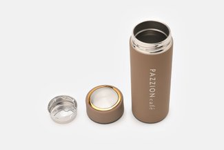 PAZZION Coffee Thermal Bottle with Tea Strainer