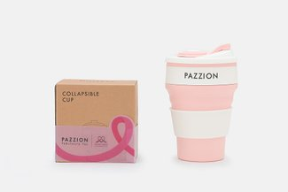 PAZZION Pink Portable Collapsible Cup